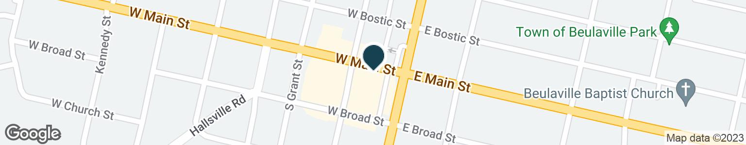 Google Map of115 W MAIN ST