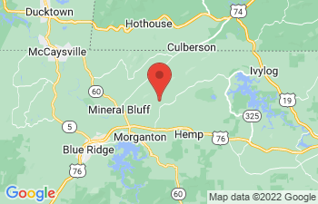 Map of Morganton