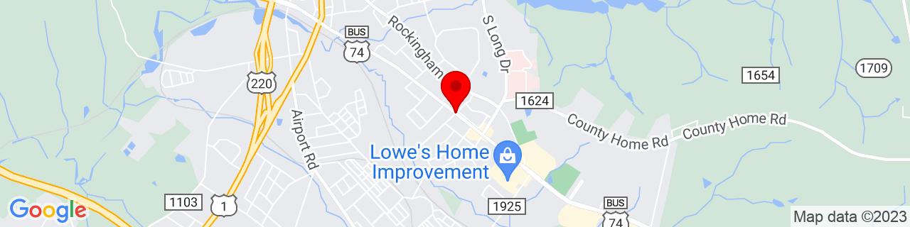 Google Map of 34.9266427, -79.7572471