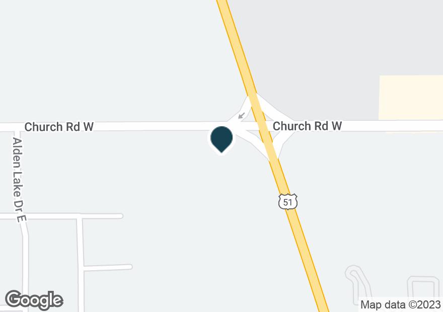 Google Map of4991 HIGHWAY 51 N