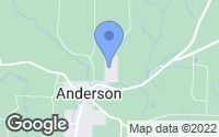 Map of Anderson, AL