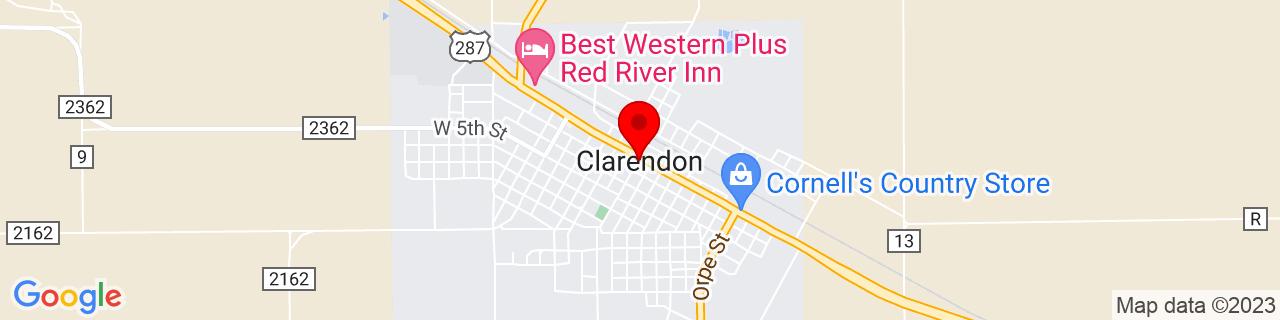 Google Map of 34.9378289, -100.8881993