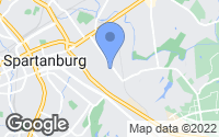 Map of Spartanburg, SC