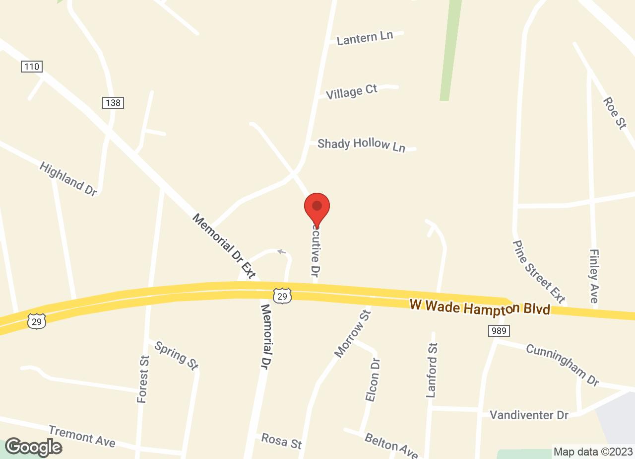 Google Map of VCA Blue Ridge Animal Hospital