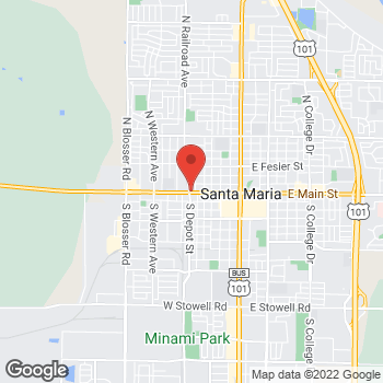 Map of Total Wireless Store at 611 West Main St, Santa Maria, CA 93458