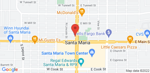 Directions to North China Restaurant