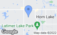 Map of Horn Lake, MS