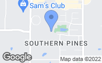 Map of Southaven, MS