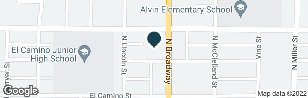Google Map of707 N BROADWAY