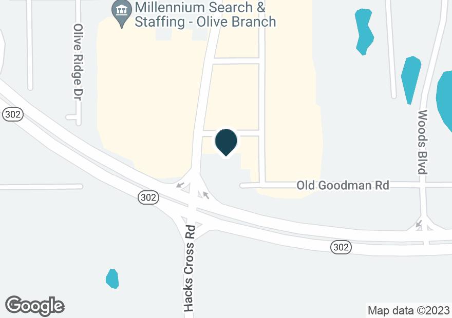 Google Map of7030 HACKS CROSS RD