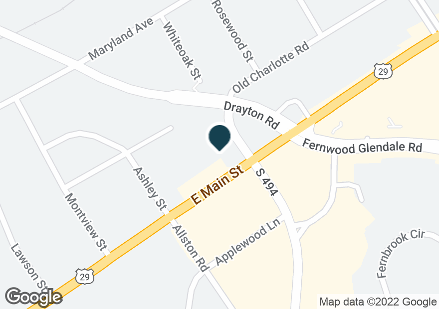 Google Map of1790 E MAIN ST