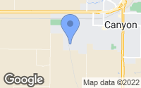 Map of Canyon, TX