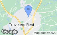 Map of Travelers Rest, SC
