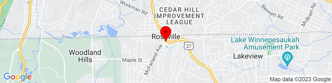 Google Map of 34.9831309, -85.28606760000002