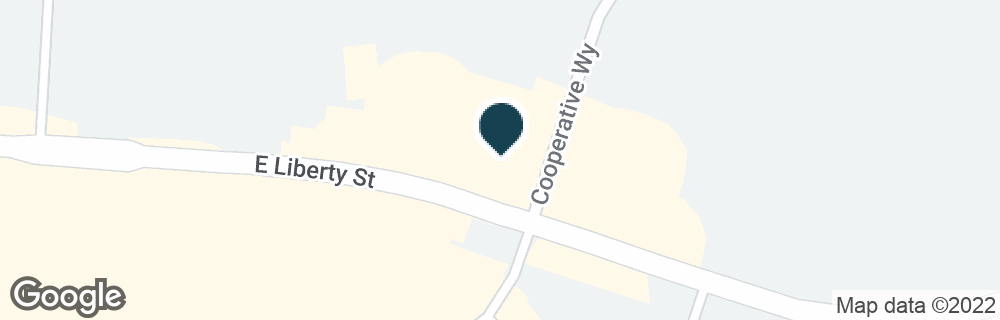 Google Map of997 E LIBERTY ST
