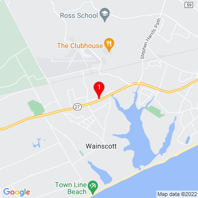Google Map of 340 Montauk Hwy  Wainscott, New York 11975