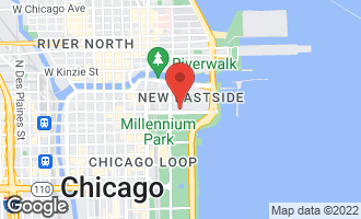 Map of 340 East Randolph Street P6-57 CHICAGO, IL 60601