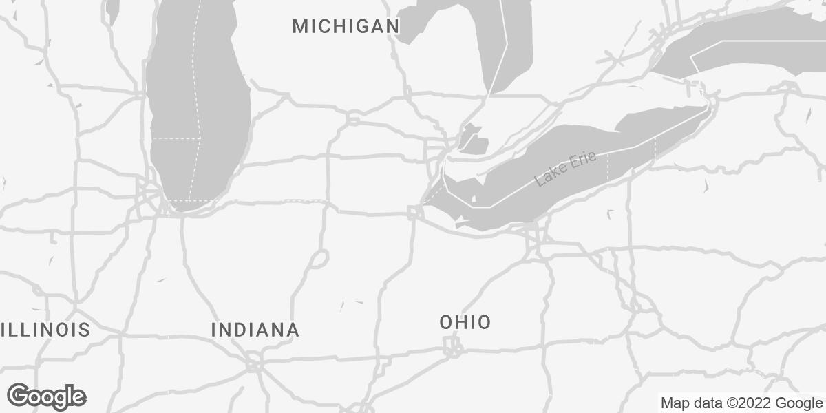 Map location of TECO