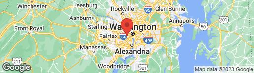 Map of 3409 WILSON BOULEVARD #501 ARLINGTON, VA 22201