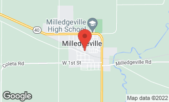 Map of 341 North Main Avenue MILLEDGEVILLE, IL 61051