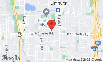 Map of 341 South Prospect Avenue ELMHURST, IL 60126