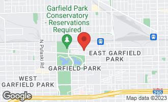 Map of 3410 West Walnut Street #3 CHICAGO, IL 60624