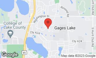 Map of 34140 North Sulkey Drive GRAYSLAKE, IL 60030