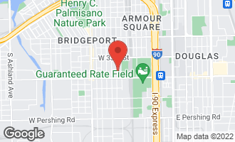 Map of 3419 South Parnell Avenue CHICAGO, IL 60616