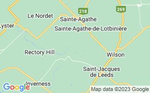 Map of Parc De La Chute Ste-Agathe