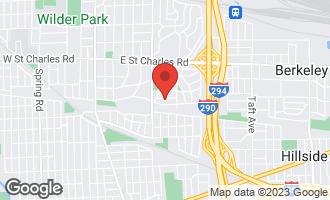 Map of 342 East Sherman Avenue ELMHURST, IL 60126