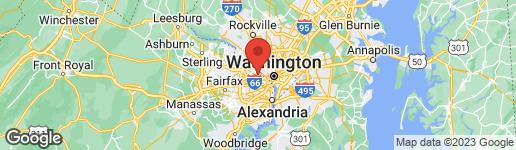 Map of 3424 VENICE STREET N ARLINGTON, VA 22207