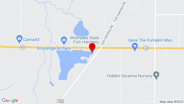 Google Map of 34270 Co. Rd 652, Mattawan, MI 49071