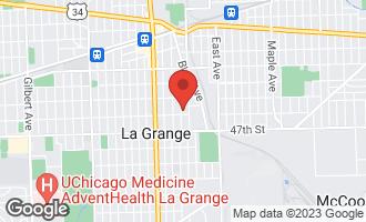Map of 343 8th Avenue LA GRANGE, IL 60525