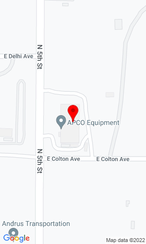 Google Map of APCO Equipment 3432 N 5th Street, North Las Vegas, NV, 89032