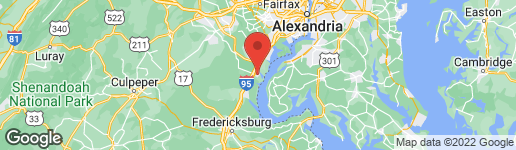 Map of 3437 LOGSTONE DRIVE TRIANGLE, VA 22172
