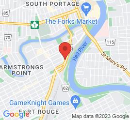 Google Map of 344+Gertrude+Ave%2CWinnipeg%2CManitoba+R3L+0M4