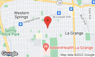 Map of 344 South Edgewood Avenue LA GRANGE, IL 60525