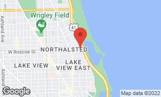 Map of 3440 North Lake Shore Drive 10C CHICAGO, IL 60657