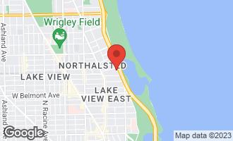 Map of 3440 North Lake Shore Drive 10E CHICAGO, IL 60657