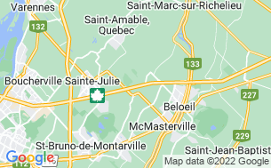 Map of Camping Alouette - Parkbridge
