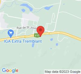 Google Map of 345+Route+117%2CMont-tremblant%2CQuebec+J8E+2X4