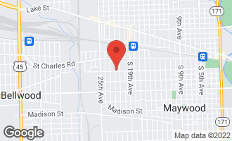 Map of 345 22nd Avenue C BELLWOOD, IL 60104