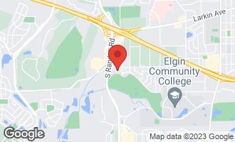 Map of 345 Loyola Drive D ELGIN, IL 60123