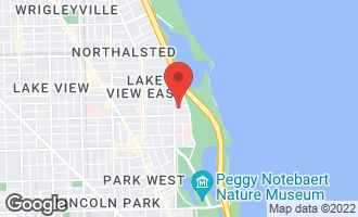 Map of 345 West Barry Avenue #1 CHICAGO, IL 60657