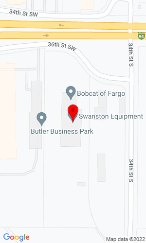 Google Map of Swanston Equipment Company 3450 W Main Avenue, Fargo, ND, 58103