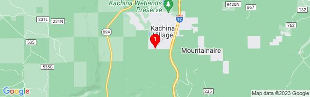 Google Map of 3469 Salt Creek Ovi Flagstaff, AZ 86005