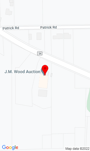 Google Map of JM Wood 3475 Ashley Road, Montgomery, AL, 36108