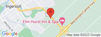 Google Map of 348+Harris+St.%2CIngersoll%2COntario+N5C+3J8