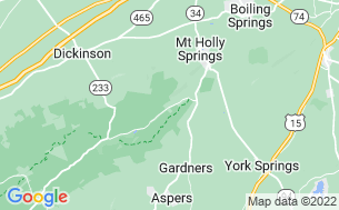Map of Mountain Creek Campground