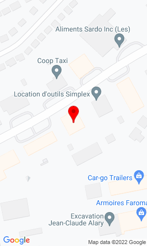 Google Map of Groupe Gymdex Inc. 3497 Boul, Des Enterprises, Terrebonne, QU, J6X 4J9